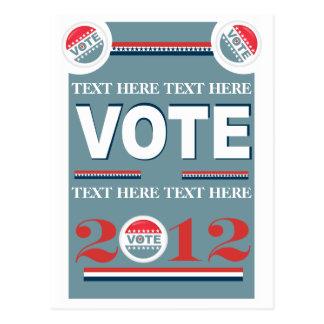 Election Voting Postcard