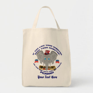 Elections 2015-2016 vote bag