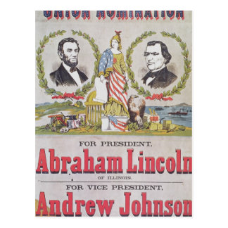 Electoral campaign poster for the Union Postcards
