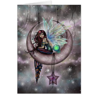 Electra Fae Fantasy Fairy Art by Molly Harrison Card