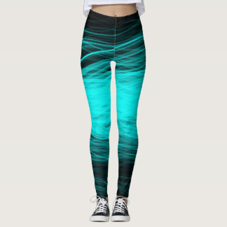 Electric Aqua - Leggings