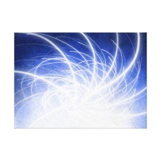 Electric Beams - Canvas Print