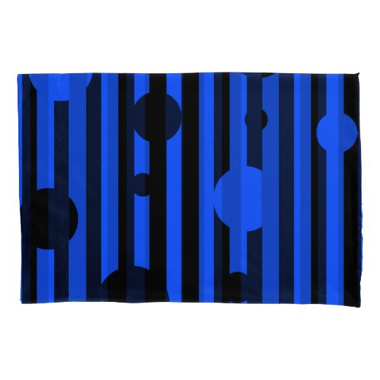 Electric Black Reversible Pillowcase