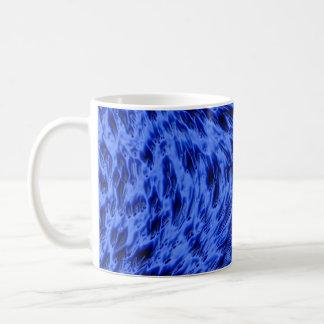 Electric Blue Basic White Mug
