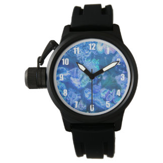 Electric Blue Coral Watch