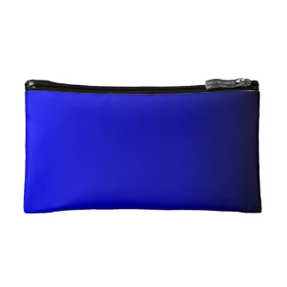 Electric Blue Cosmetic Bag