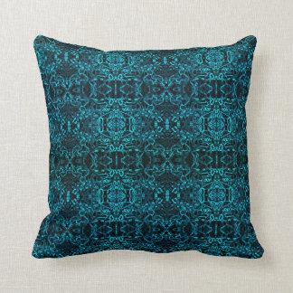 electric blue cushion