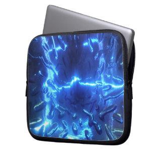 Electric Blue Electronics Bag Laptop Sleeve
