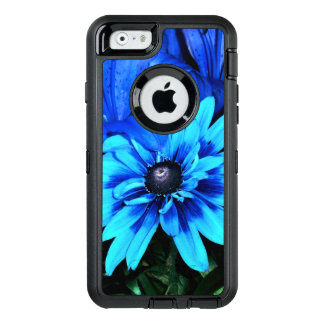 Electric Blue Flowers OtterBox iPhone 6/6s Case