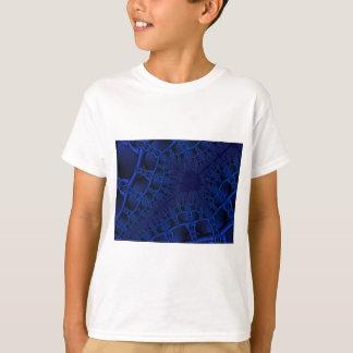 Electric Blue fractal T-Shirt