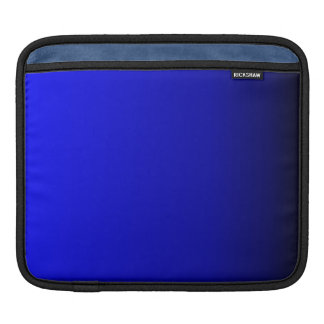 Electric Blue iPad Sleeve