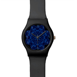 Electric Blue Kaleidoscope May28th Watch