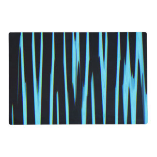 ELECTRIC BLUE ~ LAMINATED PLACE MAT