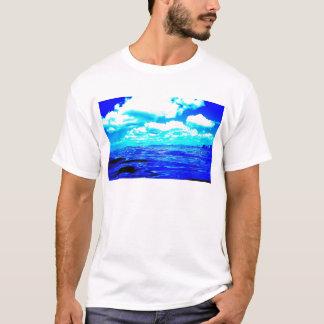 Electric Blue mens T-shirt