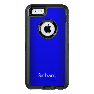 Electric Blue Personal OtterBox Defender iPhone Case