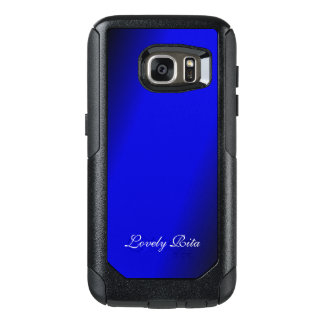 Electric Blue Personal OtterBox Samsung Galaxy S7 Case