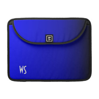 Electric Blue Personalized Sleeve For MacBooks