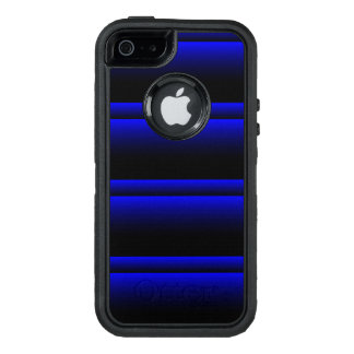 Electric Blue Stripes OtterBox iPhone 5/5s/SE Case