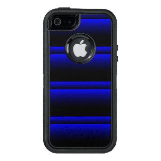 Electric Blue Stripes OtterBox iPhone 5/5s/SE Case