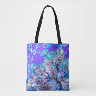 Electric Blue Tote