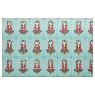 Electric Buddha Customizable Fabric