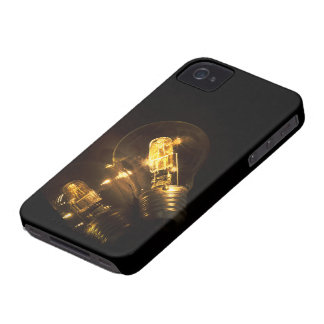 Electric bulb iPhone 4 cover