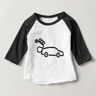Electric Car Baby T-Shirt