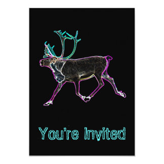 Electric Caribou Card