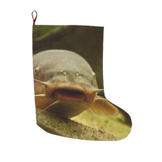 Electric catfish large christmas stocking