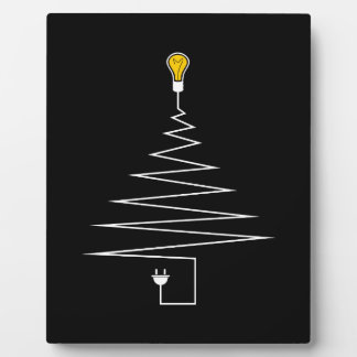 Electric Christmas tree Plaque