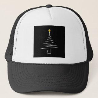 Electric Christmas tree Trucker Hat