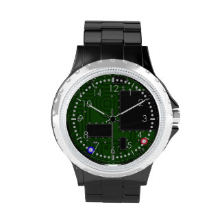 Electric circuit board watches