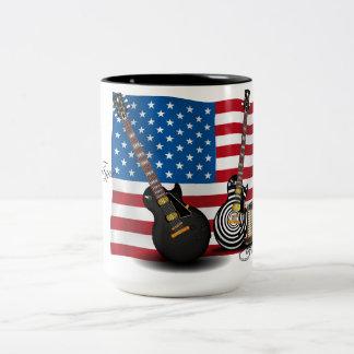 Electric Classic's - USA Two-Tone Coffee Mug