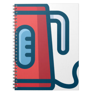 Electric Coffee Pot Spiral Notebook