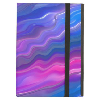 Electric Color Wave Cover For iPad Air