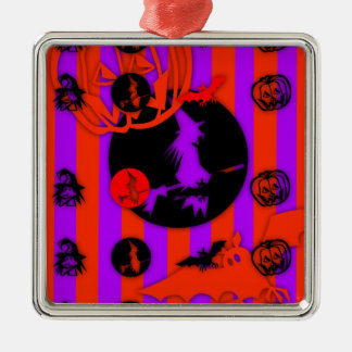 Electric Colors Halloween Ornament
