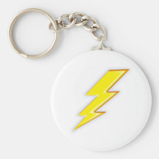 Electric + Company! Basic Round Button Key Ring