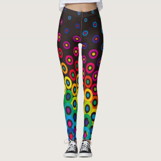 electric connect the dots womens leggings