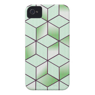 Electric Cubic Knited Effect Design iPhone 4 Case