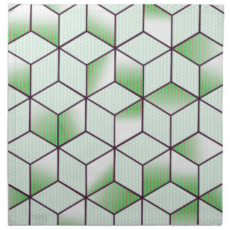 Electric Cubic Knited Effect Design Napkin