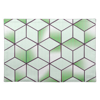 Electric Cubic Knited Effect Design Placemat