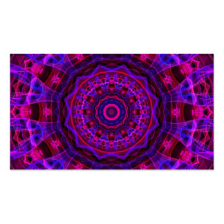 Electric Current kaleidoscope Business Cards