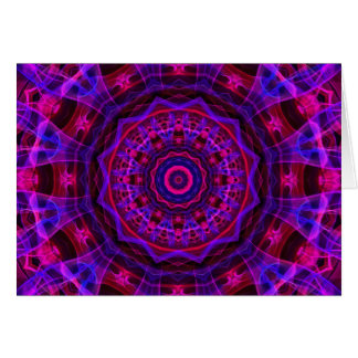 Electric Current kaleidoscope Card