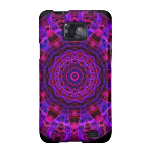 Electric Current kaleidoscope Galaxy S2 Case