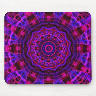 Electric Current kaleidoscope Mouse Pad