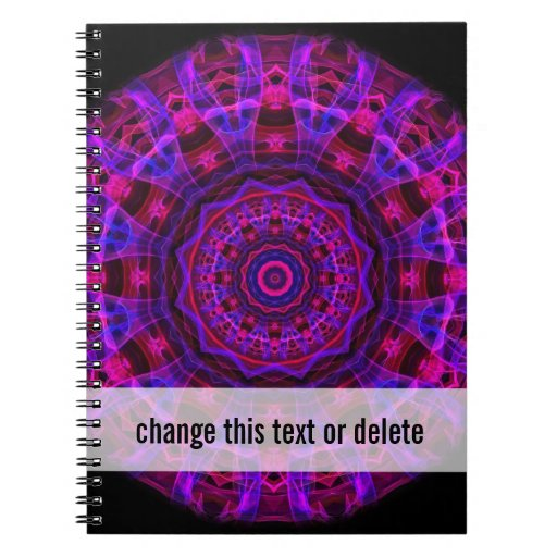 Electric Current kaleidoscope Note Book