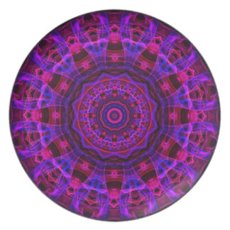 Electric Current kaleidoscope Plates