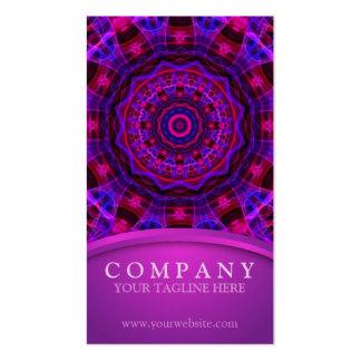 Electric Current mandala Business Card