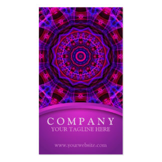 Electric Current mandala Pack Of Standard Business Cards