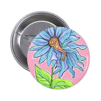 Electric Daisy 6 Cm Round Badge